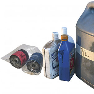 Oil Filter Exchange Events