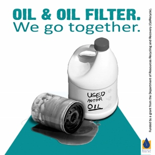 Recycling motor oil filters wastefreesd for Motor oil disposal near me